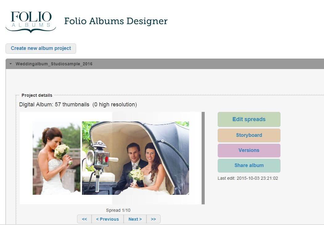 album design software